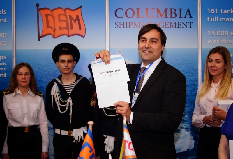 Norman Schmiedl, Crewing Director Columbia Shipmanagement